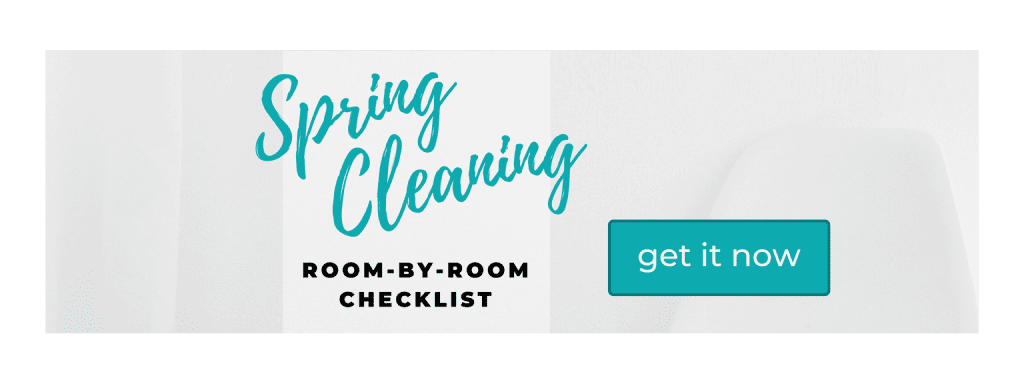 Spring Cleaning Room-by-Room Checklist
