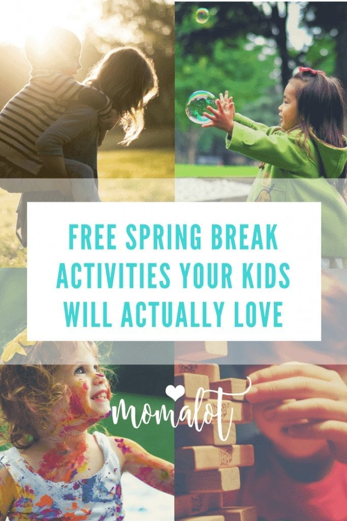 Free spring break activities your kids will actually love