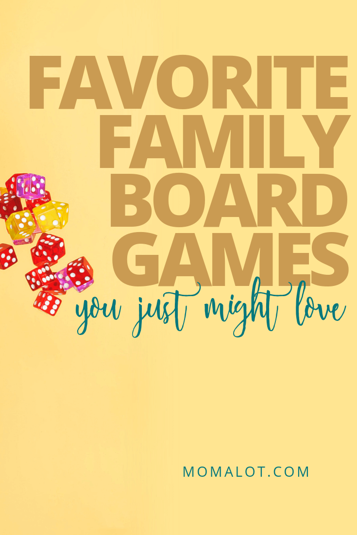 Favorite Family Board Games You'll Actually Love to Play