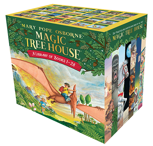 magic treehouse series books for boys momalot