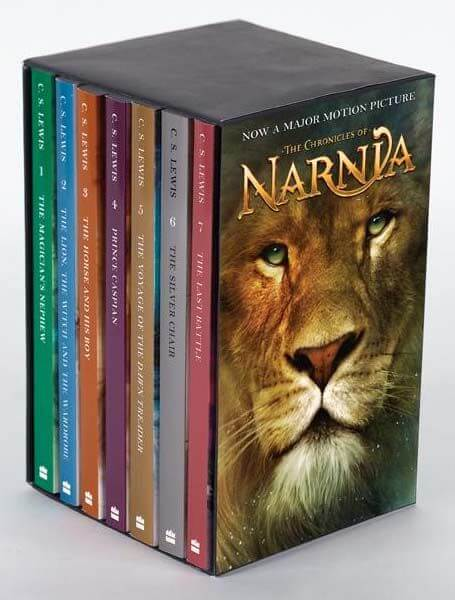 the chronicles of narnia - books for boy - momalot