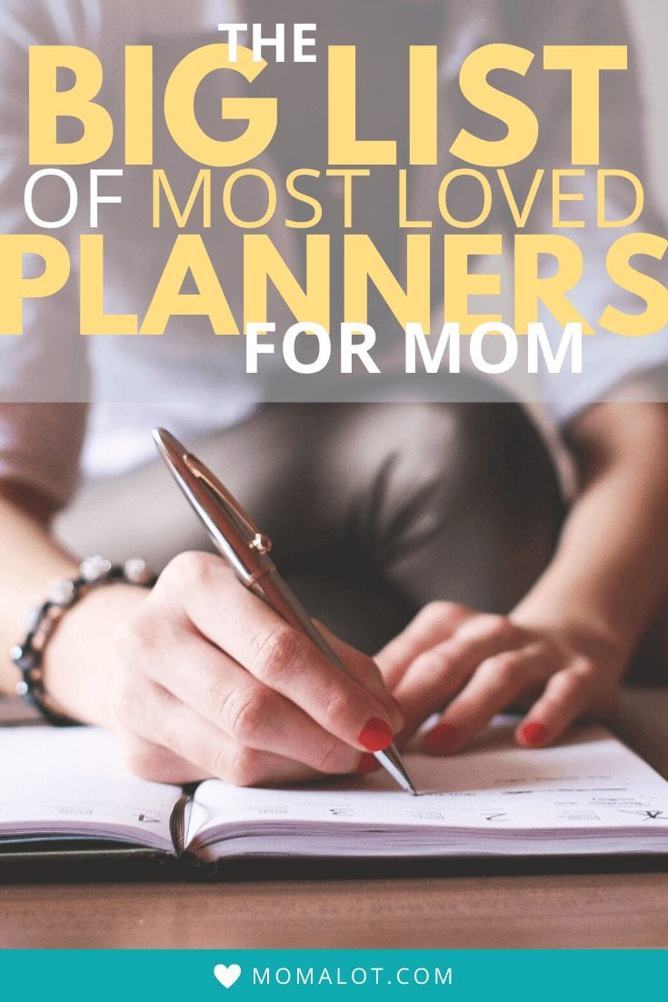 Best Planners for Mom - Pinterest Image