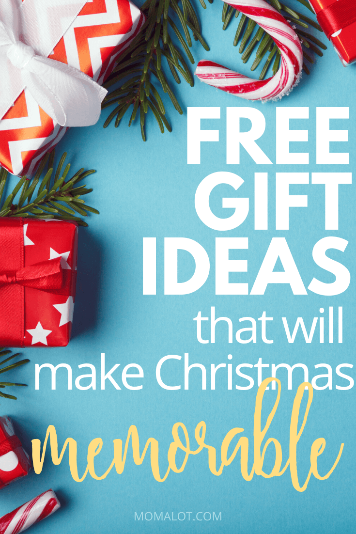 Free Gift Ideas that Will Make Christmas Memorable