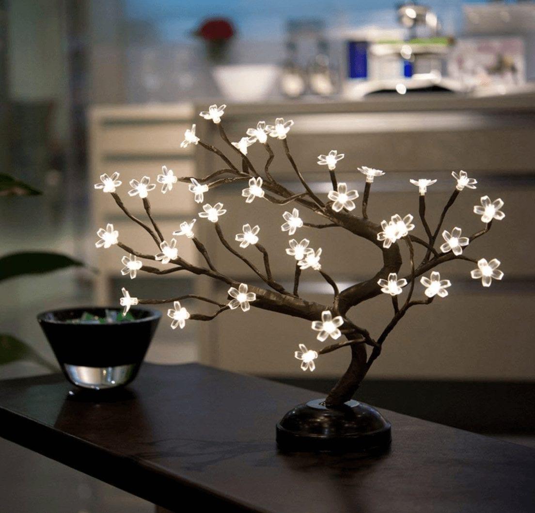 cozy home LED bonsai
