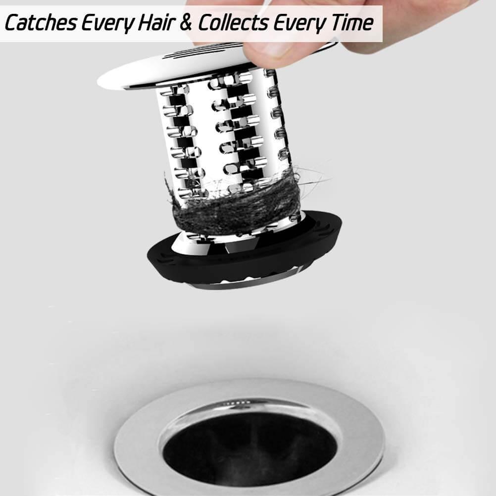 hair plug drain catcher