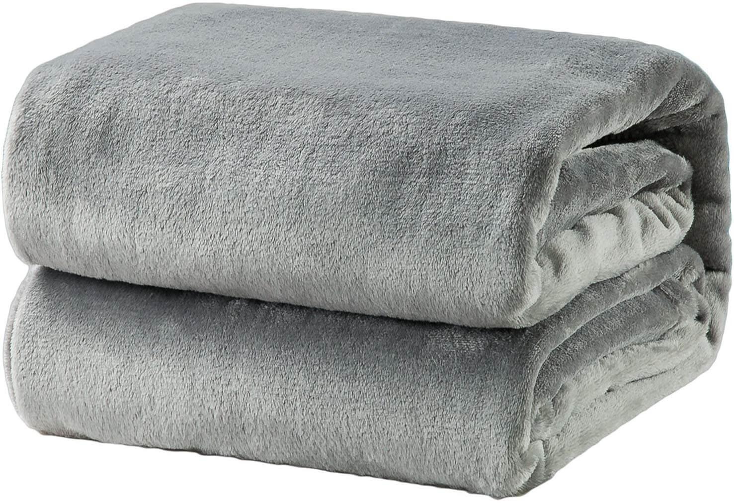 cozy home blanket fleece throw