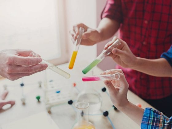 teaching kids science students