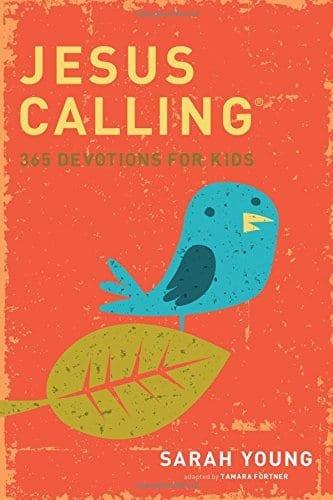 Jesus Calling 365 devotions for kids