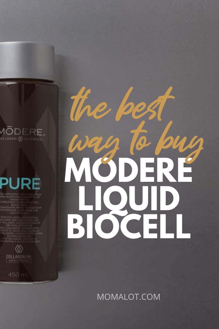 best way to buy modere liquid biocell